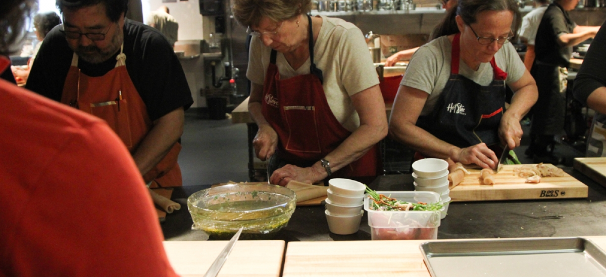 "Inside 5 Days of our ""Culinary Camp"""